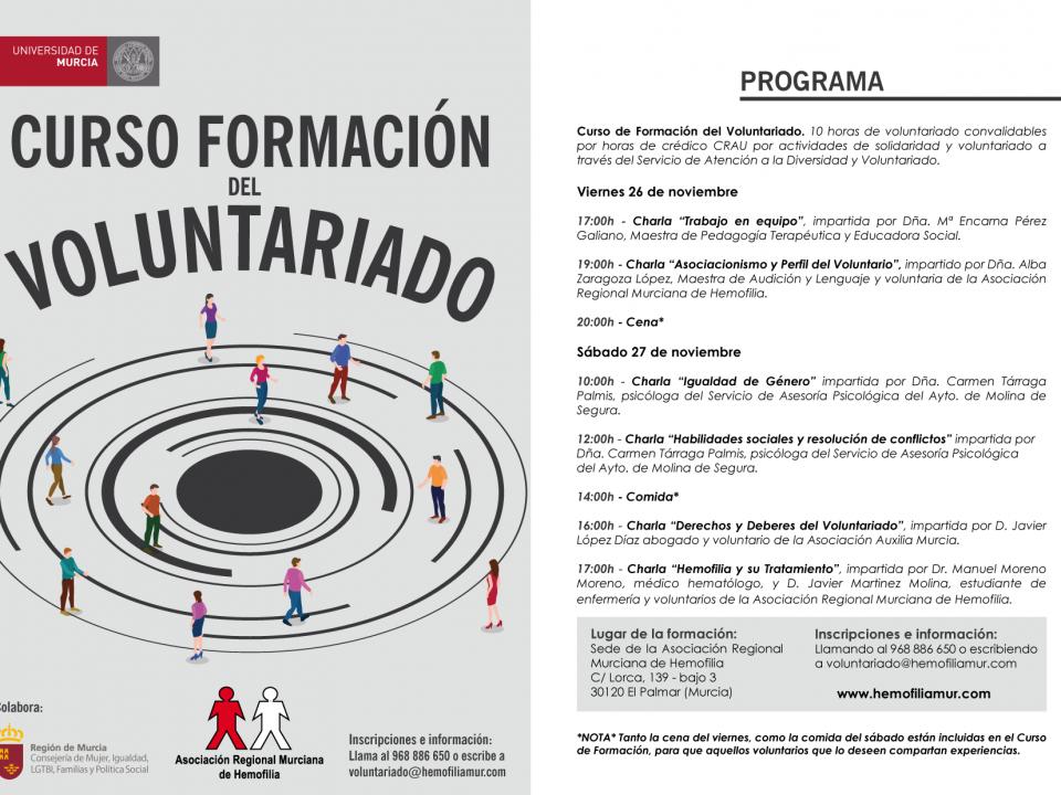 Programa curso Formacion Voluntariado Hemofilia 2021 1